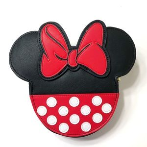 Minnie Mouse Crossbody Bag Loungefly